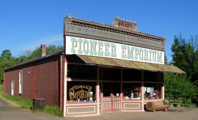 Pioneer Emporium Columbia State Park