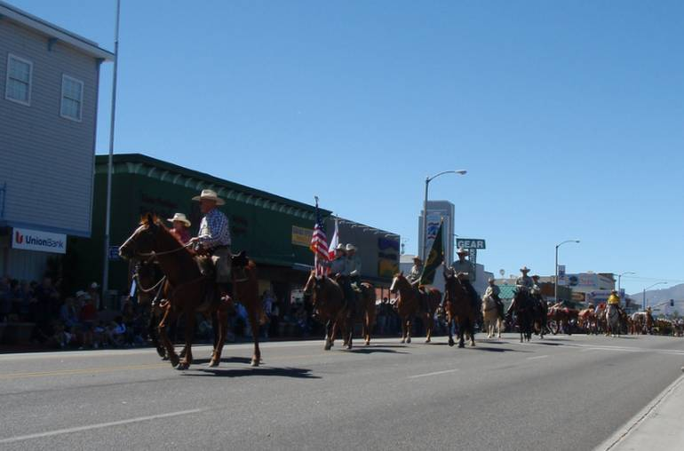 Bishop California Mule Days,