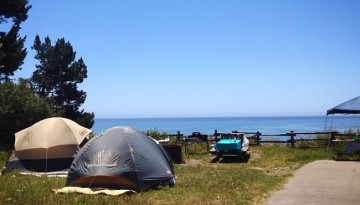 Camping New Brighton Beach