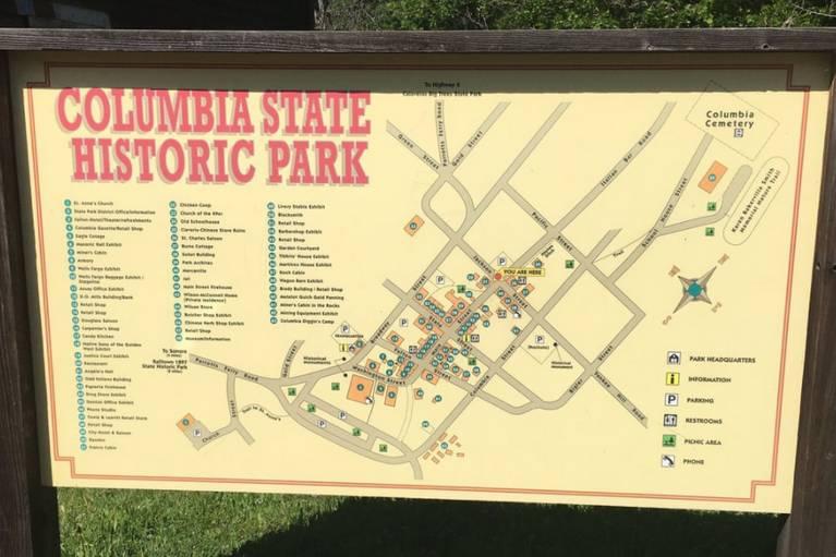 Columbia State Historic Park