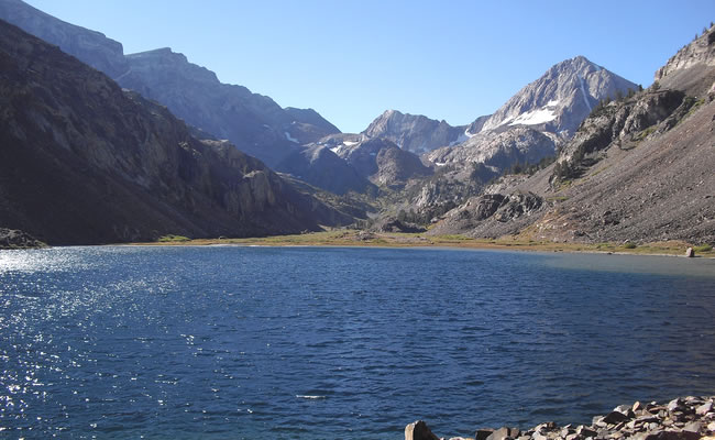 Convict Lake California High Sierra