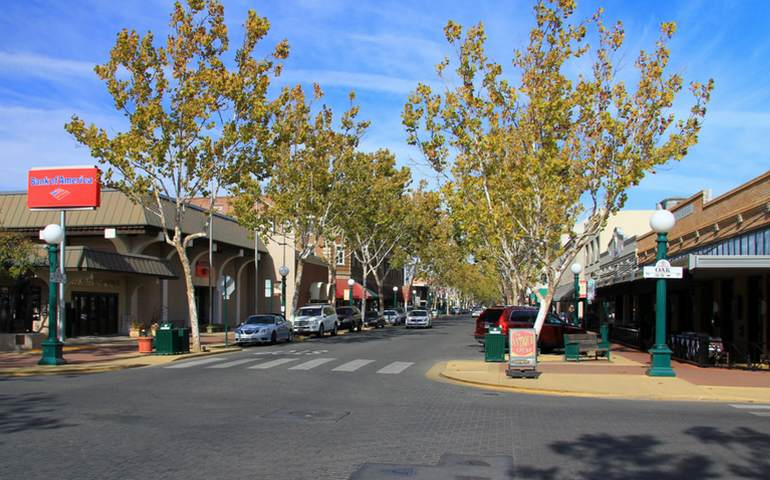Downtown Lodi California