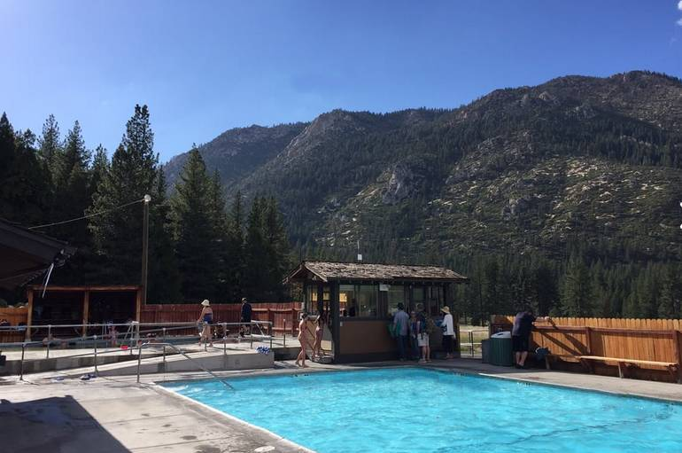 Grover Hot Springs State Park Swimming Pool