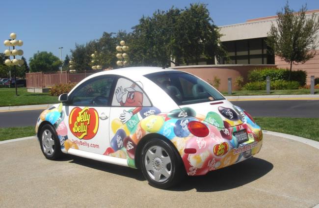 Jelly Belly VW Car