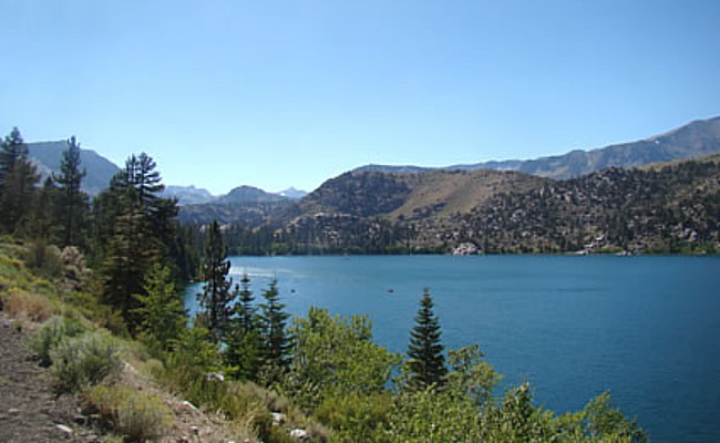Where to go fishing california high sierra lake and rivers for June lake fishing