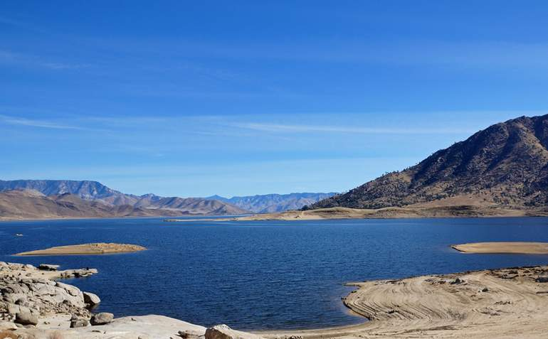 Lake Isabella Kern County California