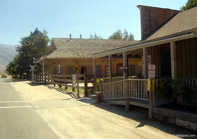 Laws Railroad Museum Entrance