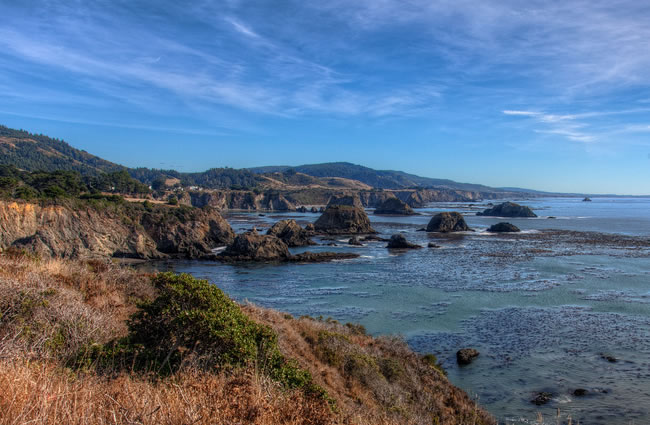 Northern California Mendocino Coast