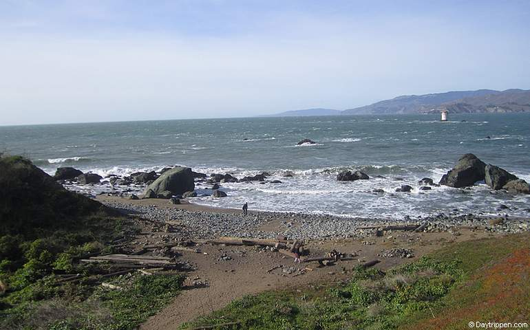 Mile Rock Beach Lands End Park