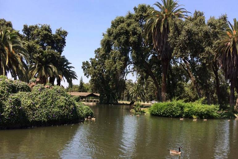 Tulare County Mooney Grove Park