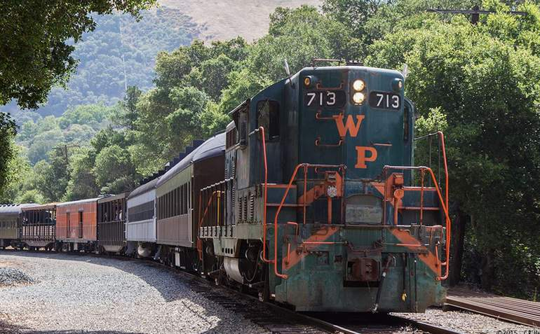 Niles Canyon Railway Weekend Train Excursion