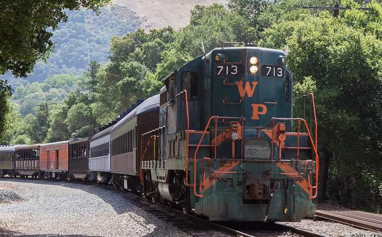 Niles Canyon Railway Weekend Train Excursion