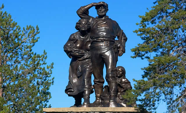 Pioneer Monument Donner SP