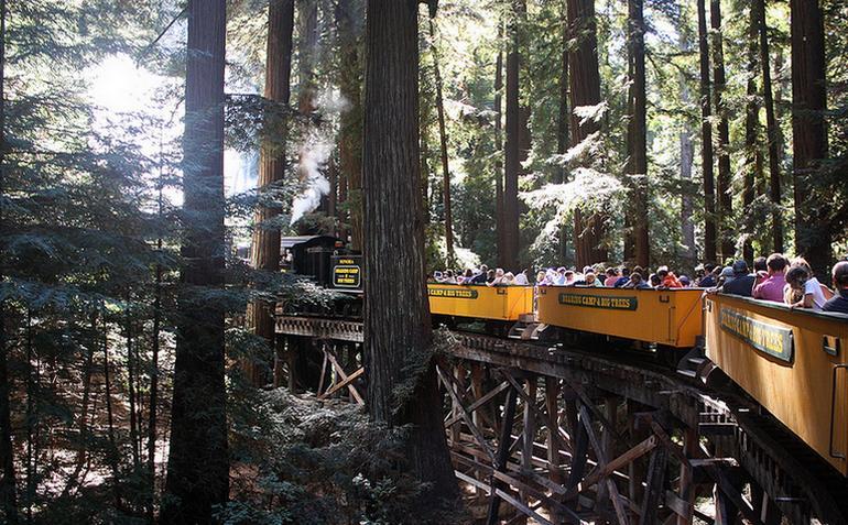 Roaring Camps Railway Santa Cruz