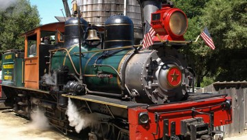 Roaring Camps Railway Day Trip