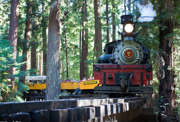 Roaring Camp & Big Trees Narrow Gauge Railroad