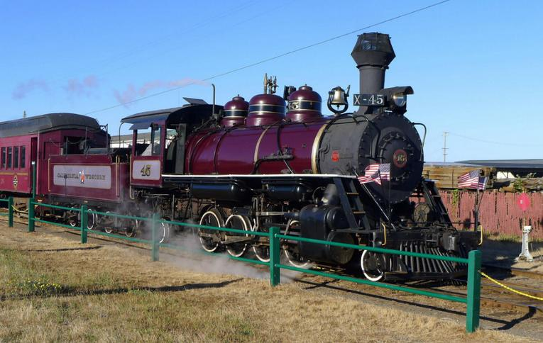 Places To Ride Trains in Northern California