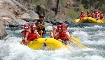 Stanislaus River Family Rafting Trips