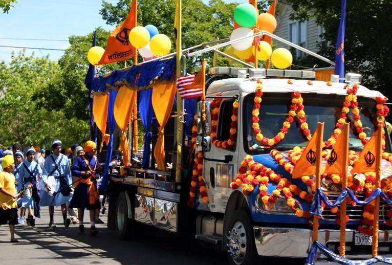 Stockton Sikh Temple Parade