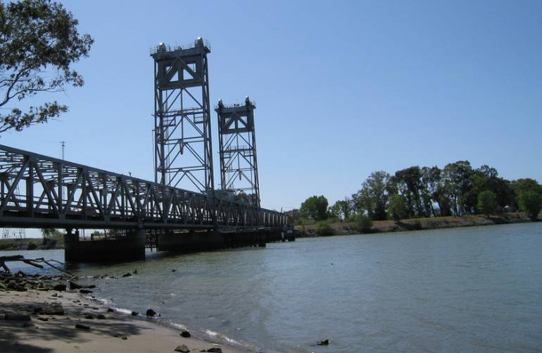 Three Mile Slough Bridge