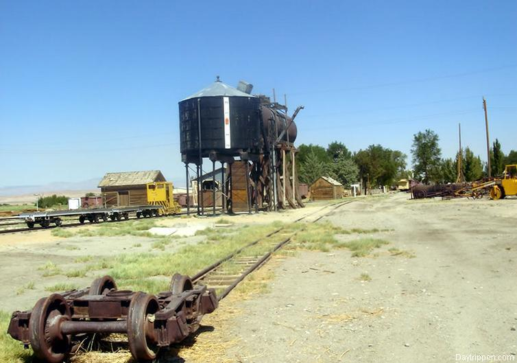 Water Tower Laws Railroad Museum Bishop