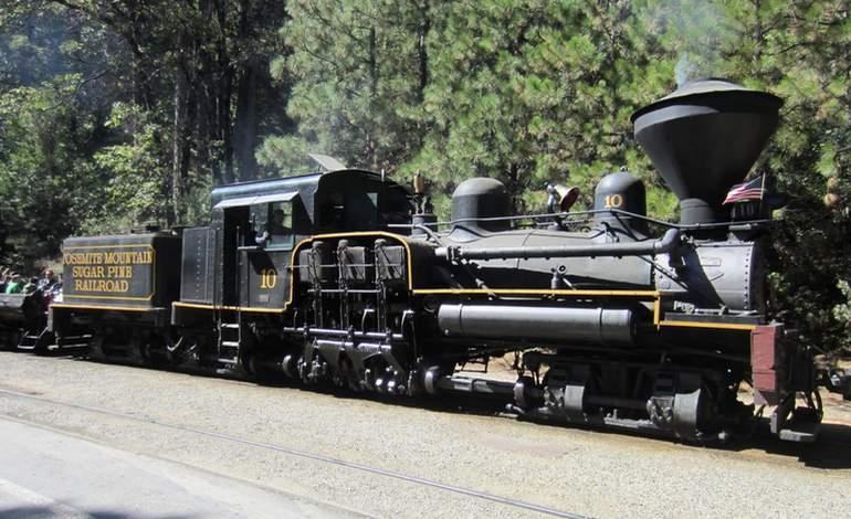 Yosemite Sugar Pine Railroad Day Trip