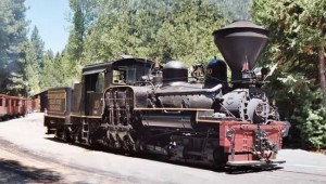 Yosemite Sugar Pine Steam Train