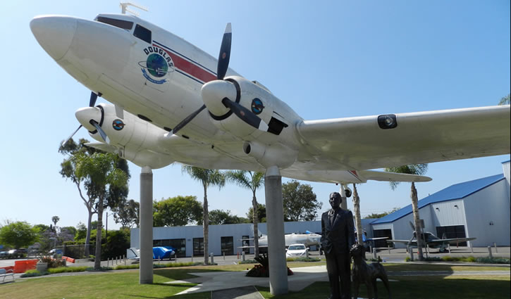 Santa Monica Museum of Flying Day Trip