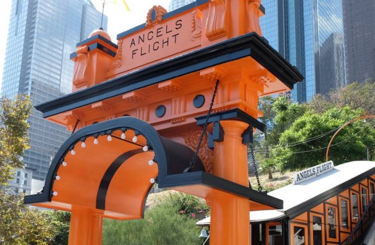 Angels Flight Railway Los Angeles
