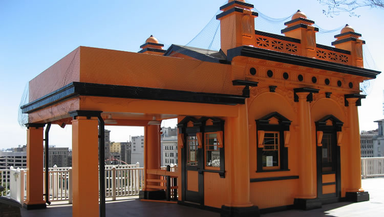 Angels Flight Railway Bunker Hill Station