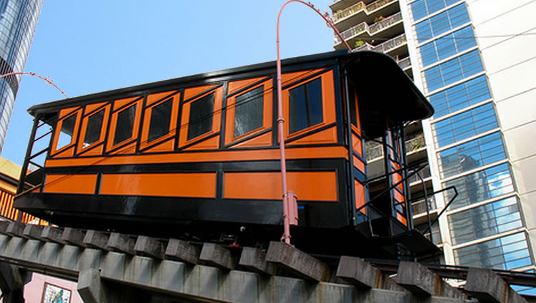 Angels Flight Railway Los Angeles Day Trip