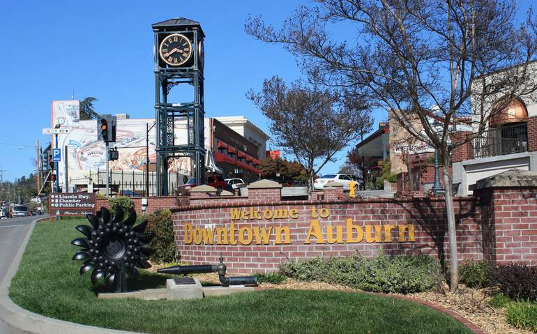 Old Town Auburn Placer County CA