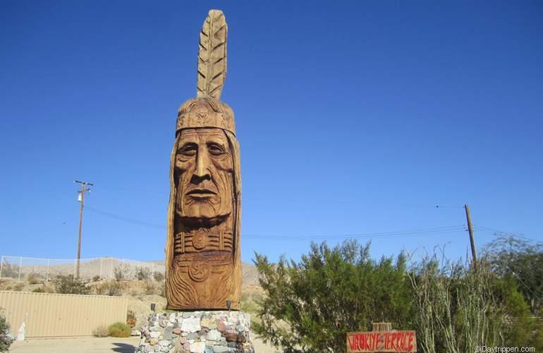 Cabot's Pueblo Museum Totem Pole