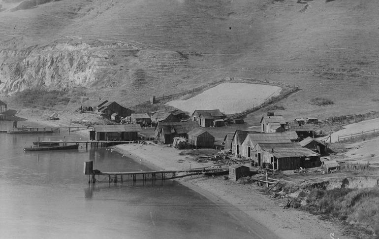China Camp State Park Campsite 1890s