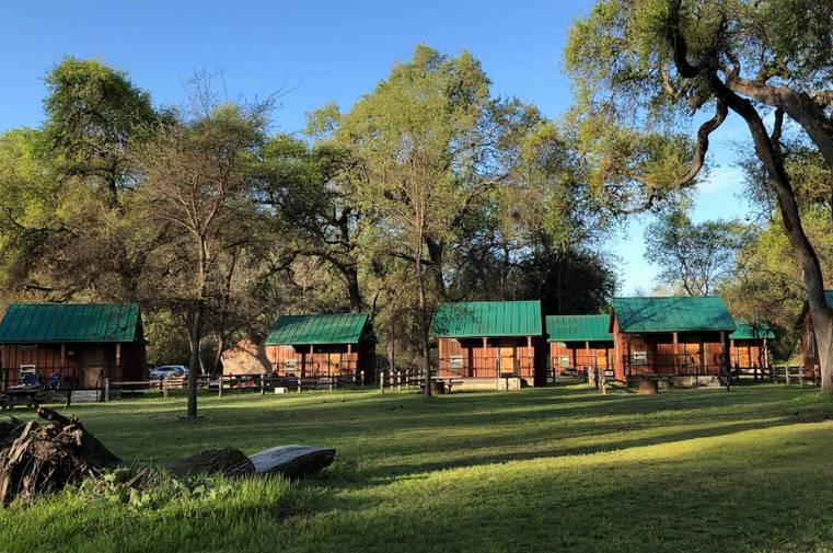 Clear Lake State Park Cabins