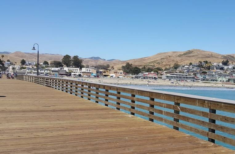 Cayucos By The Sea Pier