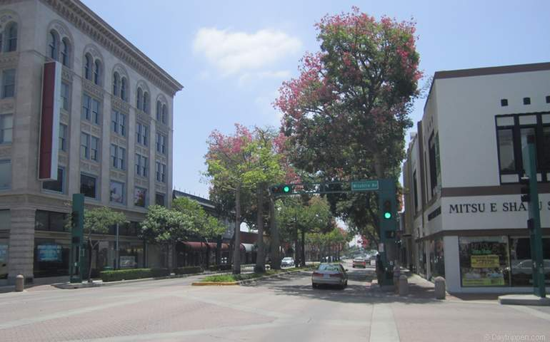 Downtown Fullerton California