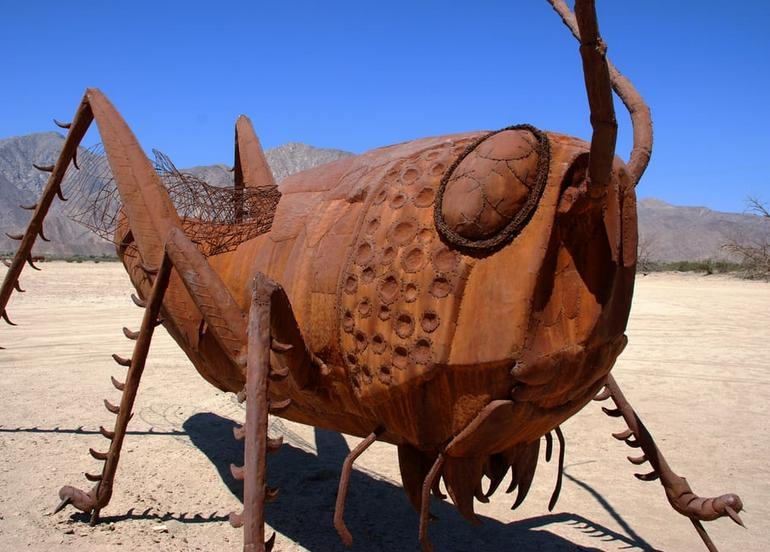 Borrego Springs Galleta Meadows Sculptures