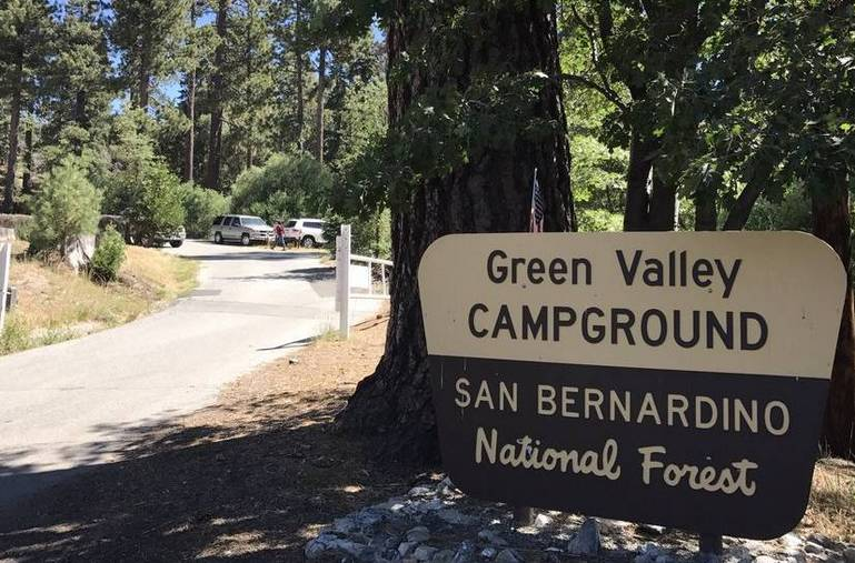 Green Valley Campground San Bernardino Mountains