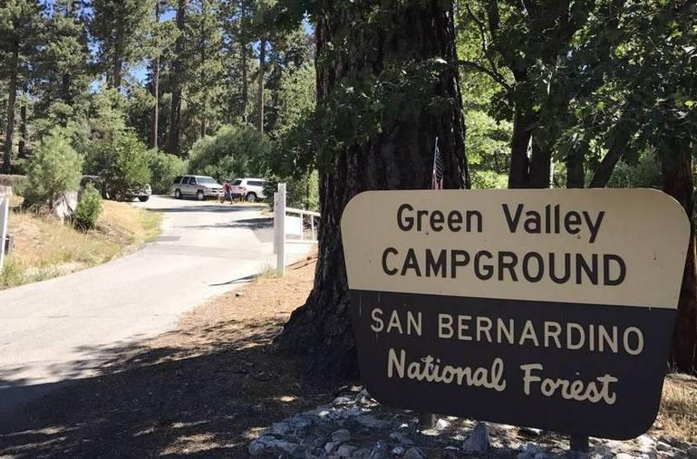 Green Valley Campground San Bernardino Mountains