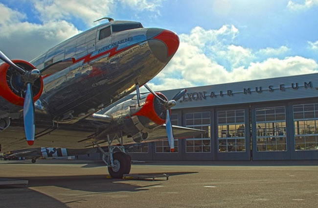 Lyon Air Museum Day Trip John Wayne Airport