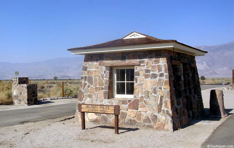Manzanar Historic Site Highway 395 Owens Valley