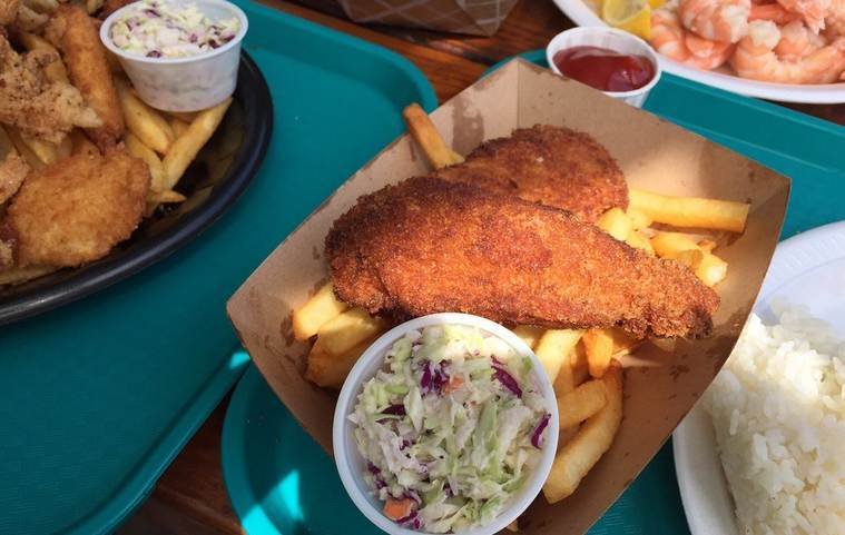 Fish n Chips Plate