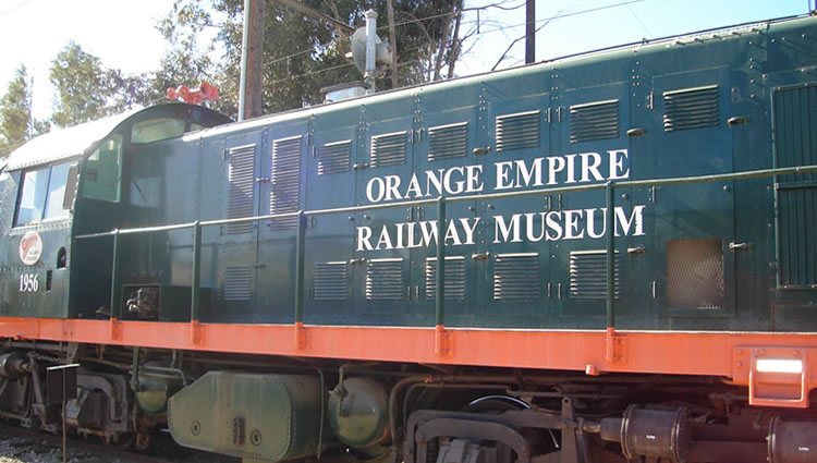 Orange Empire Railway Museum Perris