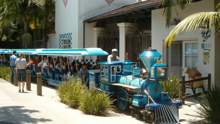 Santa Barbara Zoo Train