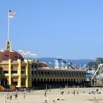 Santa Cruz Beach Boardwalk Classic California