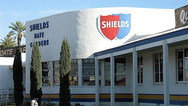 Shields date garden in Australia