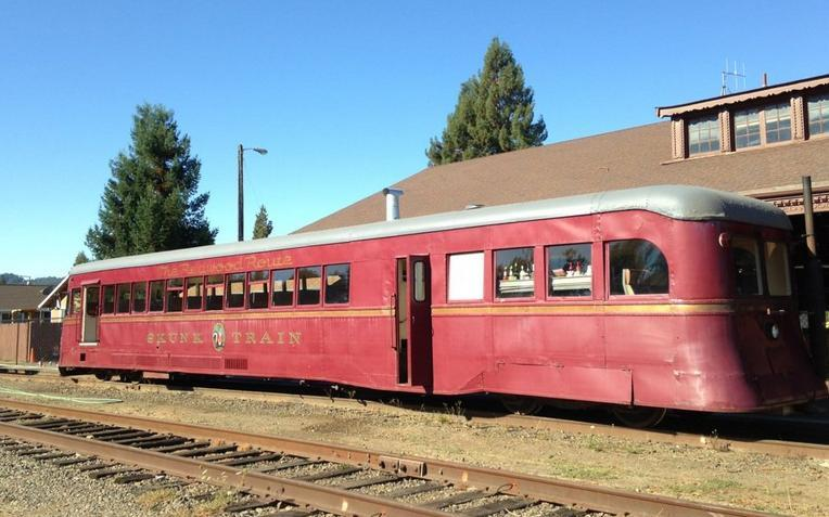 Skunk Train Fort Bragg