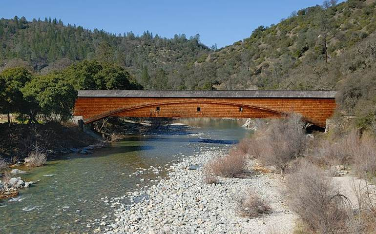South Yuba River Park Covered Bridge