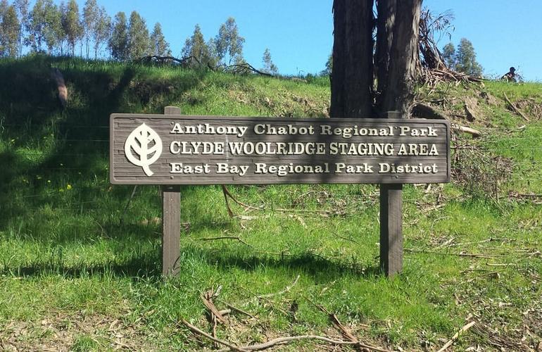 Chabot Regional Park Entrance